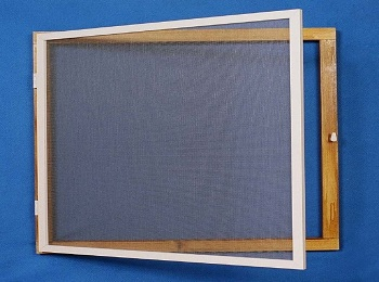 Aluminium Framed Fly Screen Window Kit
