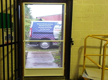 Aluminium Framed Fly Screen Door Kit