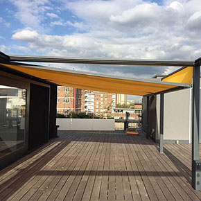 roof terrace cubola sun shade